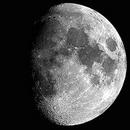 Fáze měsíce - Dorůstající Měsíc